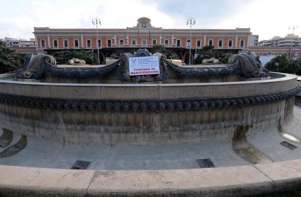 Bari, saranno rese funzionanti le 170 fontane monumentali e ornamentali della città
