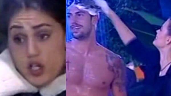 """GF Vip doccia """"bollente"""" tra Ignazio e Ivana, l'ira di Cecilia Rodriguez """"Hai la faccia come…."""""""