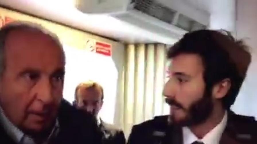 """Ventura intercettato da """"le iene"""" a Bari, alla domanda """"Si dimette o no?"""" Ha risposto così"""