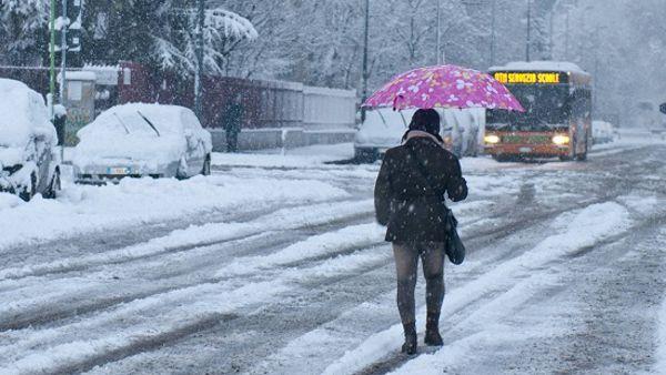 Meteo in arrivo nelle prossime ore in tutta Italia il Generale Inverno, neve a bassa quota e forti rovesci