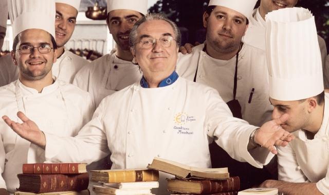 """E' morto Gualtiero Marchesi, lo chef italiano più famoso al mondo, fondatore della """"nuova cucina italian"""""""