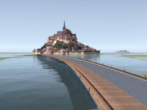 Terrorismo, evacuato e blindato il Mont-St-Michel: è caccia all'uomo