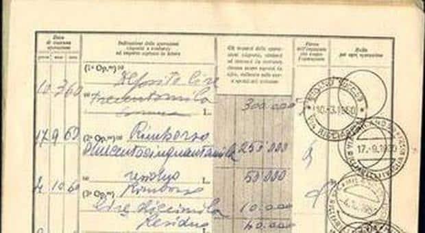 Puglia, donna trova un libretto postale con un saldo di 250 mila lire, il suo valore attuale è di 289mila euro