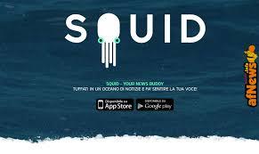 Squid, un nuovo aggregatore di news che sta conquistando tutti