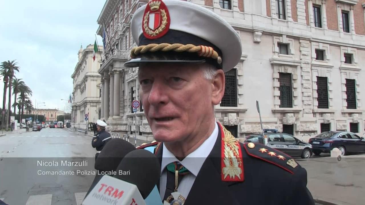 Bari, riposa in pace Comandante Nicola Marzulli, fermato l'autore del vilipendio alla lapide – VIDEO