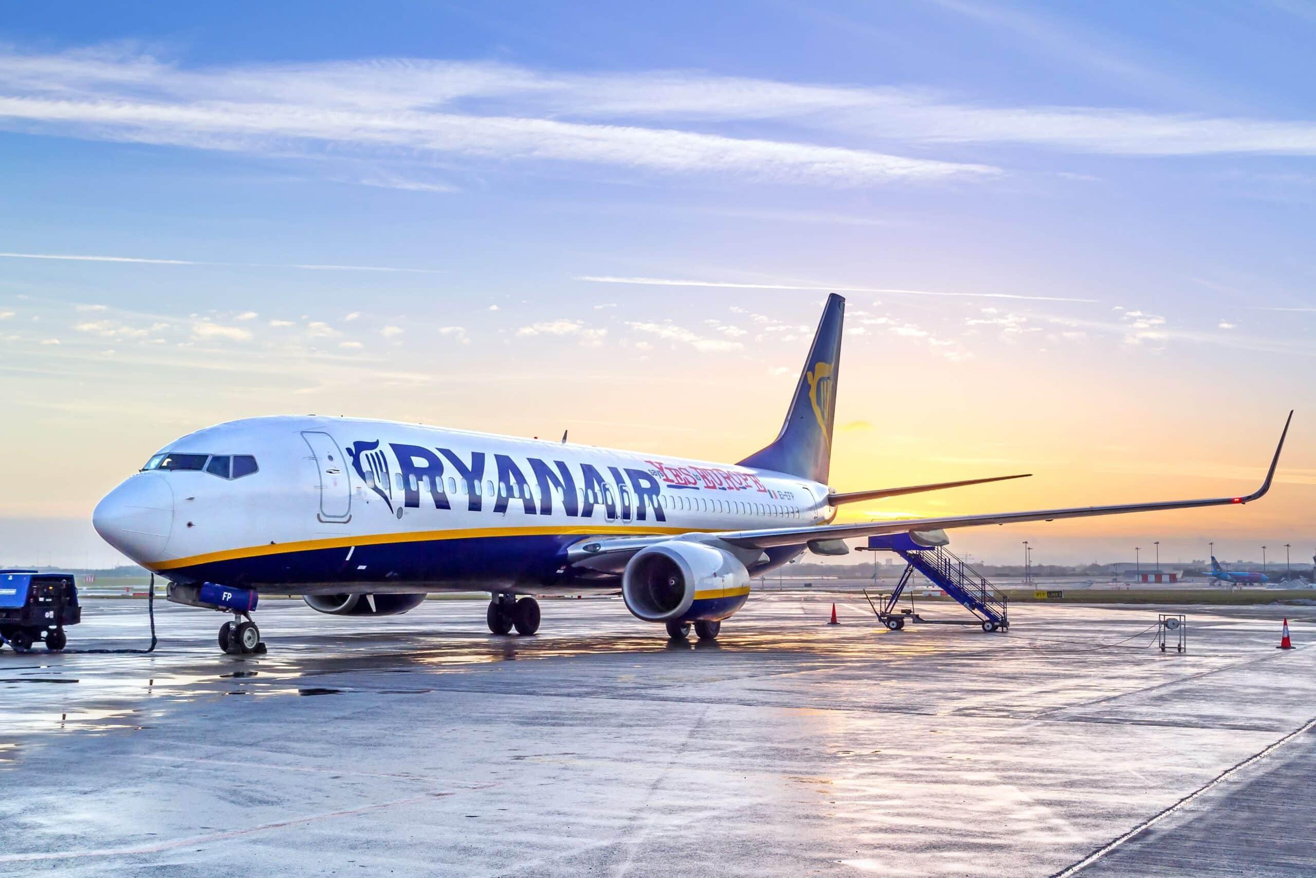Ryanair cancellerà 600 voli in Europa la prossima settimana