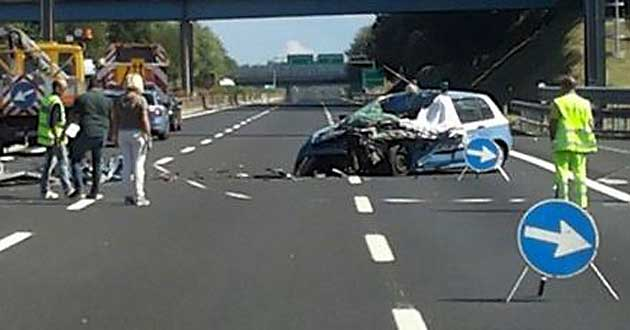 Frosinone, tragico incidente tra due auto, muore bimba di soli 7 anni, gravissima la sua babysitter
