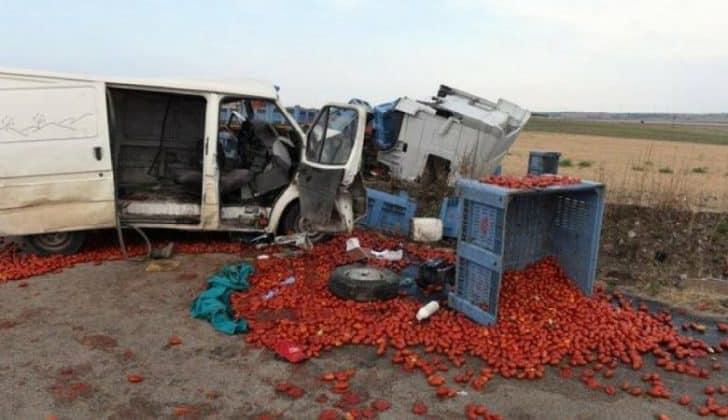 Puglia tragedia, violentissimo incidente sulla Statale 16, impattano un camion e furgone, dodici morti