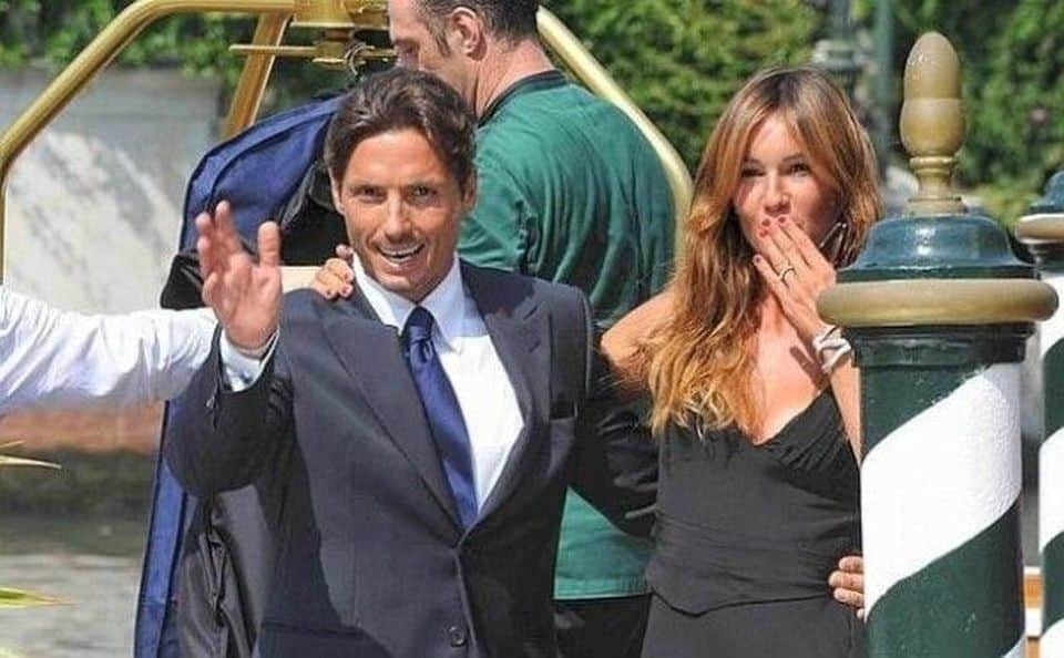 Il maltempo ha colpito anche i vip, Silvia Toffanin e Piersilvio Berlusconi rimasti intrappolati in un castello
