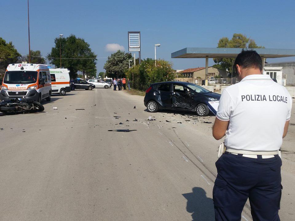 Foggia, il ragazzo morto per incidente auto – moto in via San Severo aveva 33 anni e si chiamava Felice Schittulli