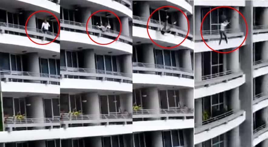 Giovane donna muore precipitando dal 27esimo piano, si era seduta alla ringhiera del balcone per farsi un selfie