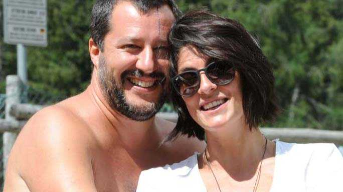 """Matteo Salvini risponde alla sua ex Elisa Isoardi """"Non ho mai buttato la mia vita privata in piazza, non comincerò a farlo adesso!"""""""