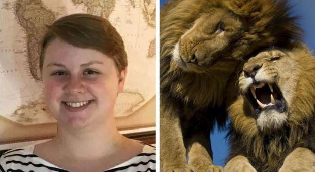 Neolaureata di 22 anni per necessità addetta alle pulizie, viene sbranata da un leone fuggito da un recinto