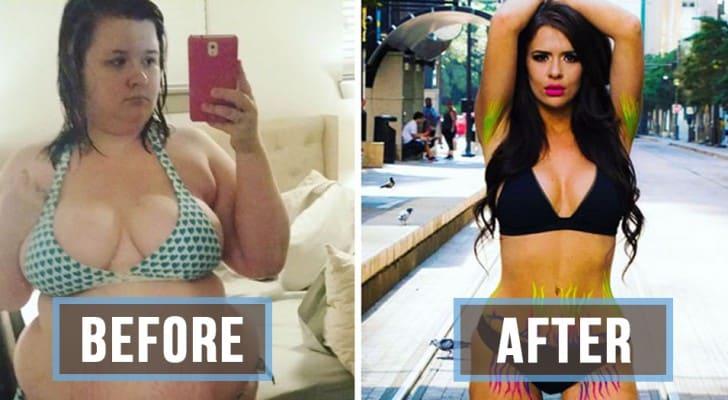 """Il marito la chiamava """"vacca grassa"""", lei perde 50 chili, diventa bellissima e lo lascia"""