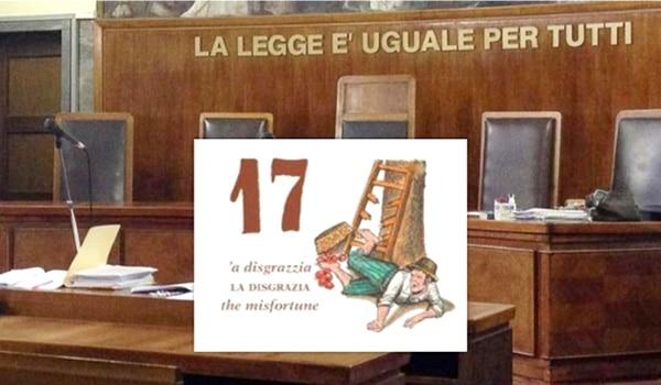 """""""Il 17 porta sfiga giudice no"""". L'imputato superstizioso chiede di spostare l'udienza e il giudice lo accontenta"""