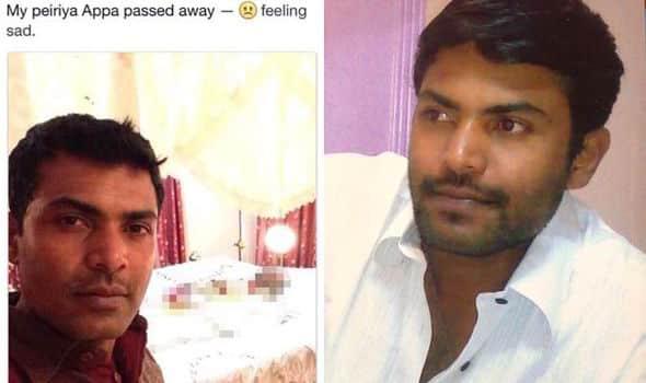 34enne dice di voler condividere il dolore con tutti e si fa un selfie col cadavere dello zio