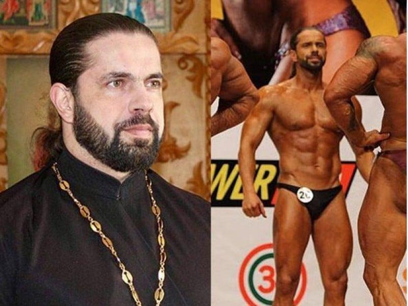 Il prete body builder sta infiammando il web, di giorno prete, di sera i muscoli in evidenza