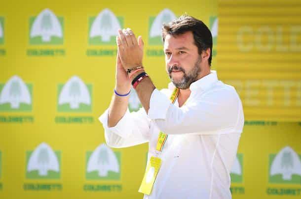 """Matteo Salvini su sondaggi Ixè per Cartabianca """"Se i sondaggi di Rai Tre, con Pd vincente in  Emilia-Romagna sono come quelli in Umbria siamo a cavallo"""""""