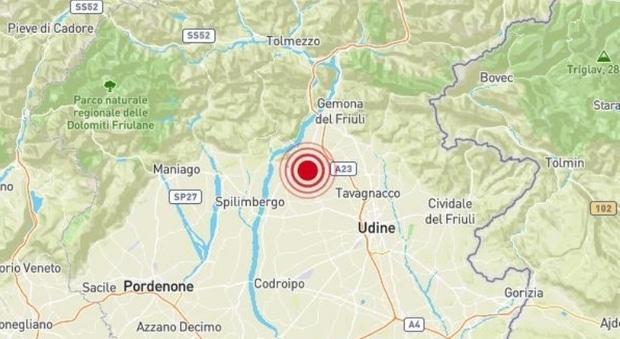 Terremoto in tempo reale, nuova scossa in Friuli, trema la terra in provincia di Pordenone