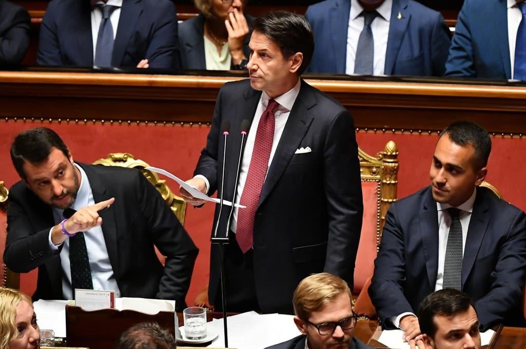 """Elezioni Umbria, l'attacco di Salvini """"la vittoria la dedicherò a Giuseppe Conte e a Luigi di Maio!"""""""