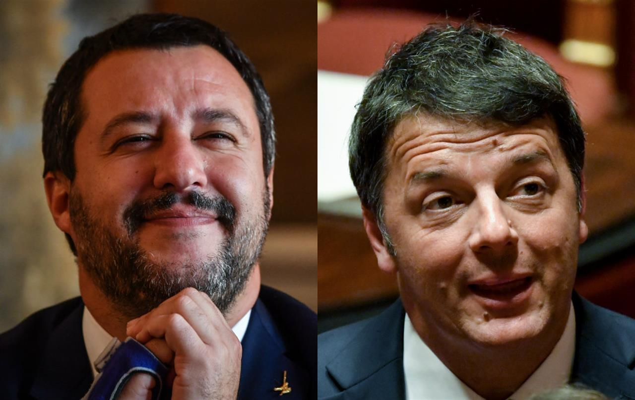 Ultimi sondaggi politico elettorali, boom di Salvini, sale Renzi, giù Zingaretti, profondo rosso per Di Maio
