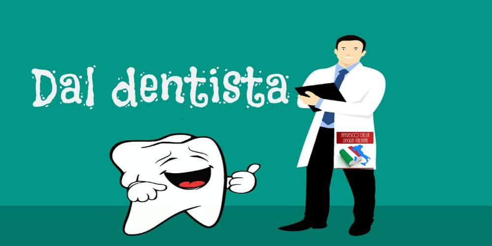 Va dal dentista e quando termina la seduta parla con un accento straniero