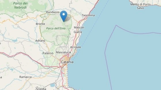 Terremoto in tempo reale, scossa in Sicilia trema la terra a Catania