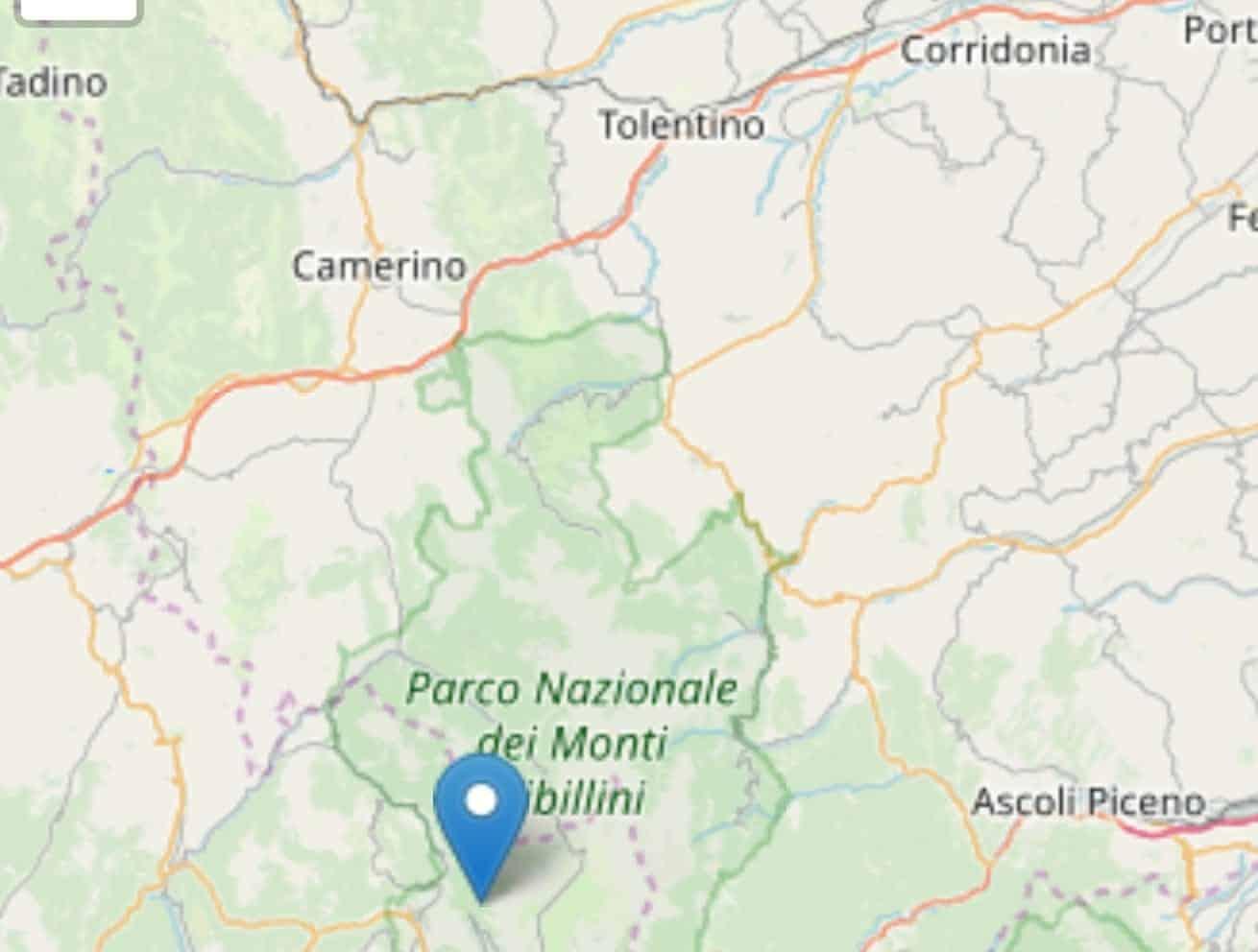 Terremoto in tempo reale, nuova scossa in Umbria, trema la terra a Norcia
