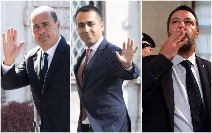 Ultimi sondaggi politico elettorali, Lega al 33%, Fratelli d'Italia sotto il 10%, ulteriore calo M5S, stabile Pd