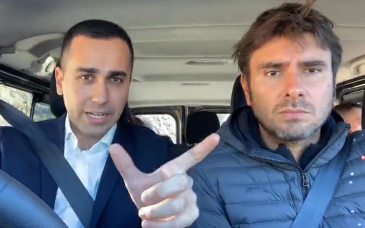 Asse ritrovato tra due big del M5S, Alessandro Di Battista e Luigi Di Maio pronti a rompere con il Pd e andare al voto