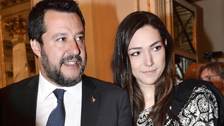 Matteo Salvini ha un super consulente è la sua fidanzata, la 28enne Francesca Verdini