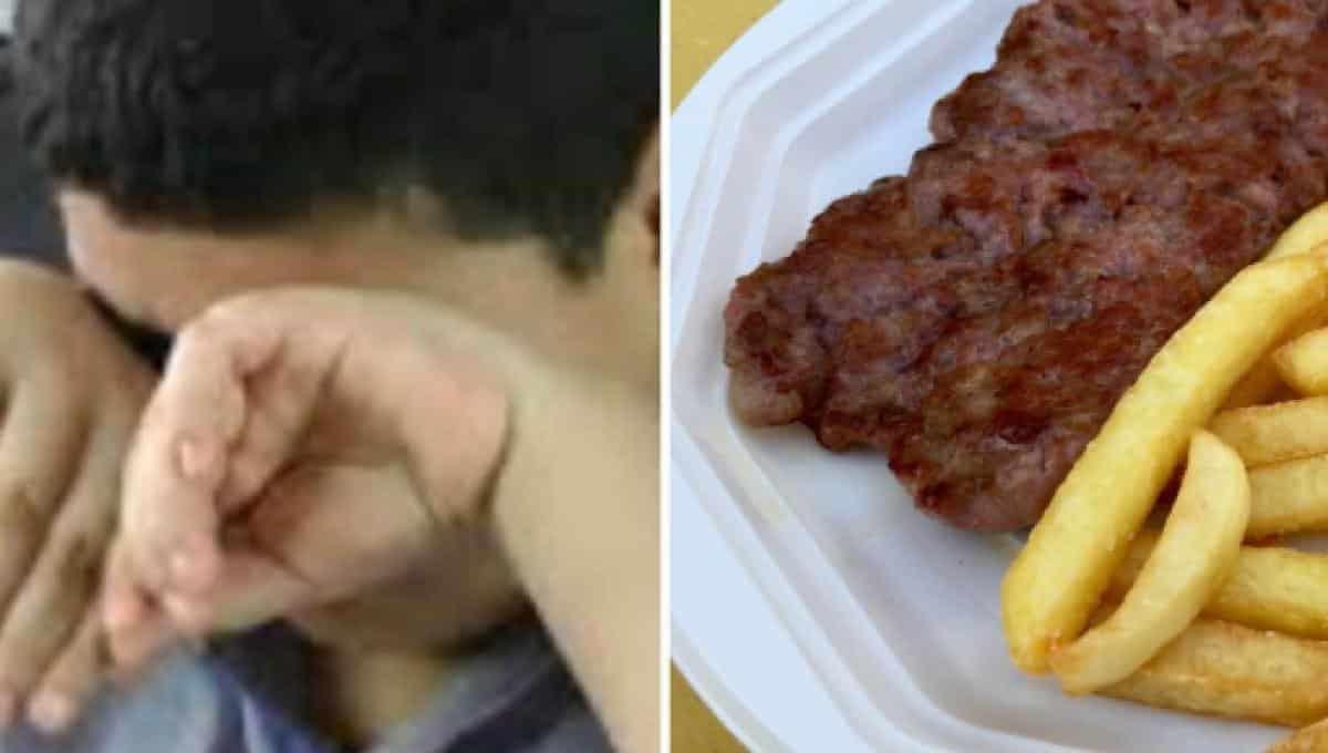 Ragazzo di diciassette anni mangia solo patatine fritte e perde la vista