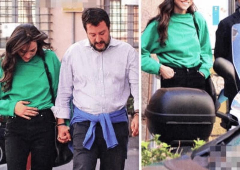 Matteo Salvini di nuovo papà? Pancino molto sospetto di Francesca Verdini