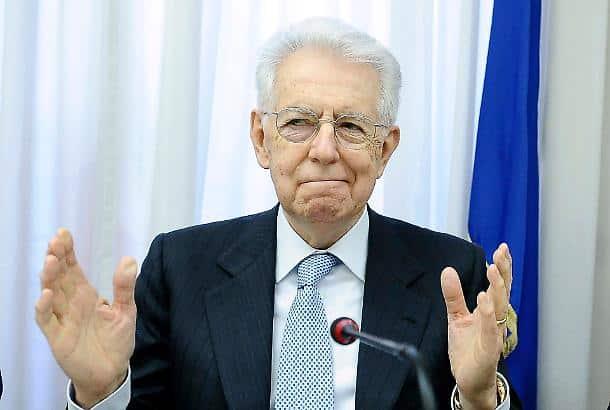 """Mario Monti attacca gli italiani """"Se credono ancora a una parola di Salvini sull'Europa, il problema sono gli italiani e non Salvini"""""""