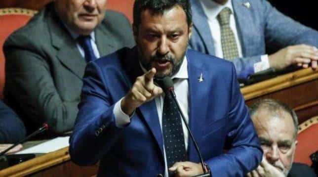 """Salvini durissimo su Conte """"Noi le lasciamo la sua arroganza e ci teniamo la nostra umiltà. Presto la giudicheranno 60 milioni di italiani"""""""