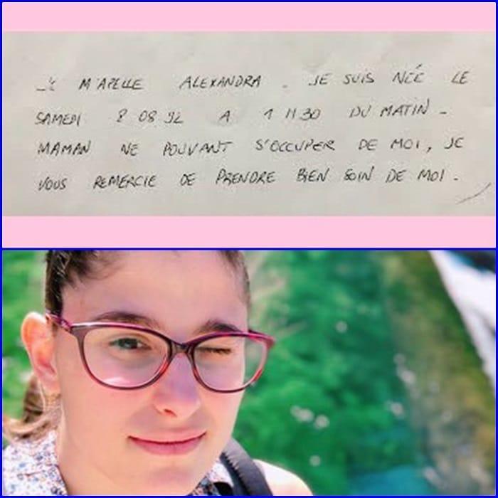 La mamma la lascia neonata sui gradini di un ospedale con una lettera, oggi la ragazza ha 27 anni e pubblica la lettera della mamma sperando di ritrovarla