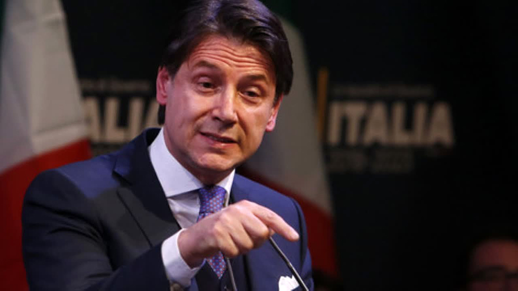 """Conte ironico dopo il voto in Emilia Romagna e Calabria : """"Oggi Salvini non si è visto, i citofonari sono rimasti a casa"""""""