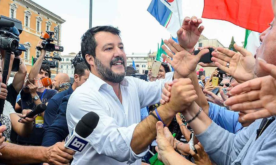 Ultimi sondaggi elettorali, se si dovesse votare ora il leader più apprezzato sarebbe Matteo Salvini