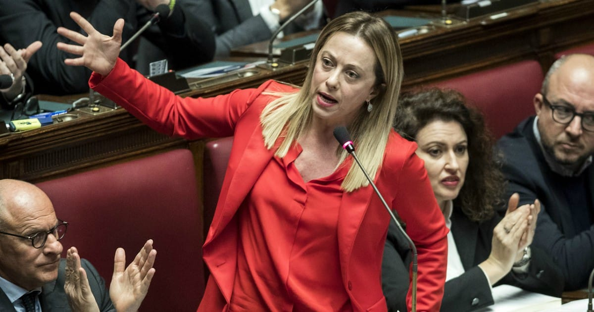 """Giorgia Meloni """"In Italia i tempi sono maturi per una donna come Presidente del Consiglio"""""""