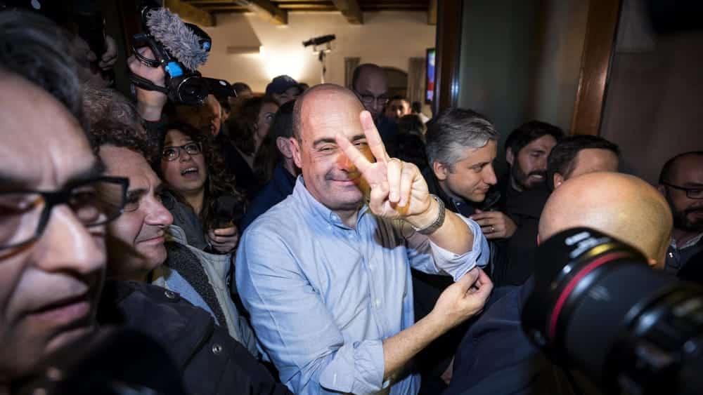 """Nicola Zingaretti segretario del Pd, """"Noi e le Sardine siamo il futuro dell'Italia"""""""
