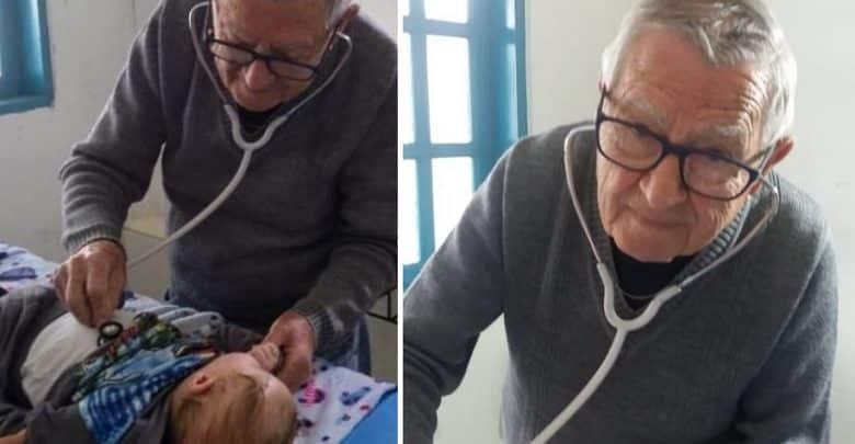 Pediatra va in pensione ma continua a visitare tutti i bambini poveri non chiedendo nulla in cambio