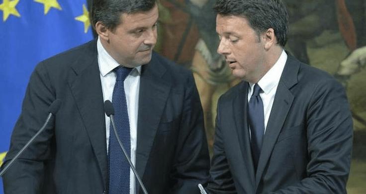 """Calenda a Renzi """"Ritrova il coraggio i tuoi Ministri siedono con Di Maio E Bonafede, sciogli questo sodalizio"""""""