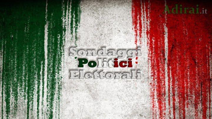 Ultimi sondaggi politico elettorali, in salita Lega e Fratelli d'Italia, tiene il Pd, ulteriore crollo dei grillini