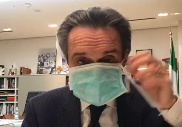 Coronavirus, il governatore della Regione Lombardia, Attilio Fontana, annulla conferenza stampa e si mette in autoisolamento, una sua stretta collaboratrice ha contratto il virus