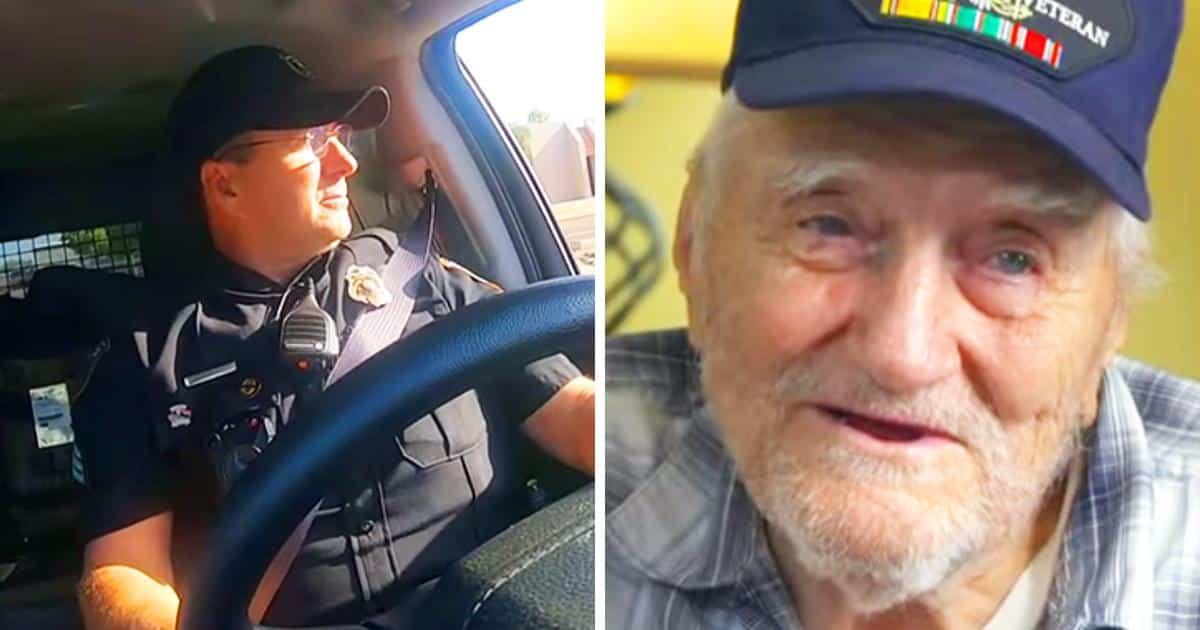 Un uomo di 94 anni è deciso a fare un viaggio di 3500 chilometri, il figlio preoccupato chiama la polizia che decide di scortarlo