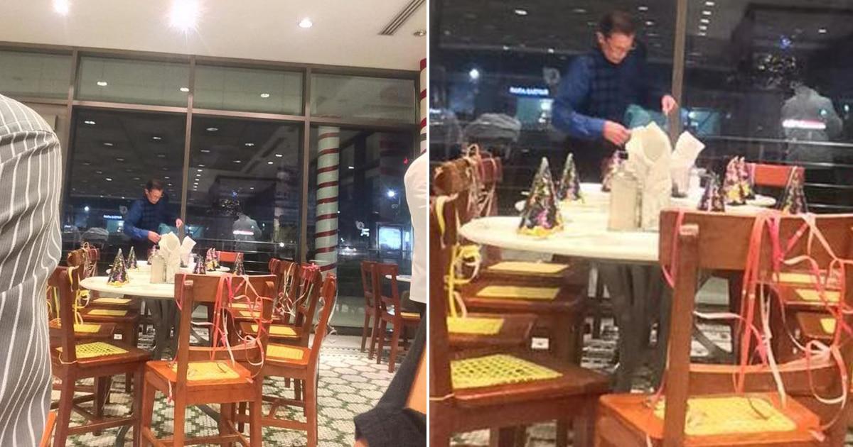 61 enne vuole festeggiare il suo compleanno con i suoi figli e i suoi nipoti, prenota un tavolo a un ristorante ma nessuno si presenta, poi la bellissima sorpresa