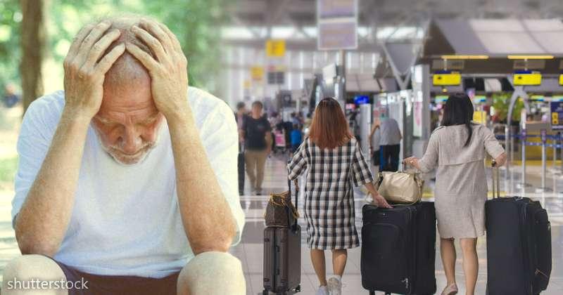 Il padre è malato di Alzheimer , la figlia lo fa salire su un volo di sola andata e dice, ho chiuso con lui