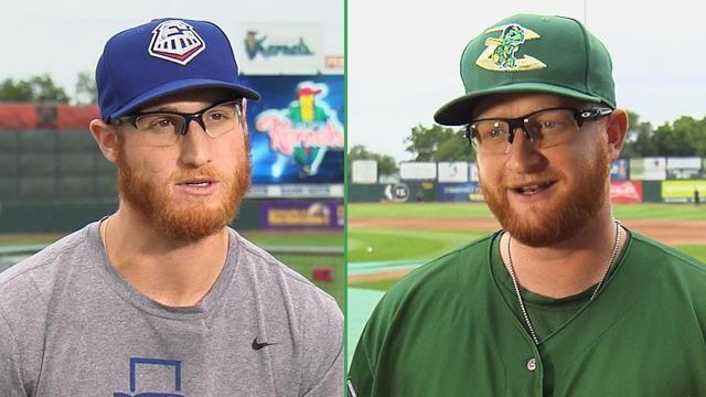Due giocatori di baseball si incontrano, scoprono di chiamarsi allo stesso modo e sono identici e allora si sottopongono al test del DNA