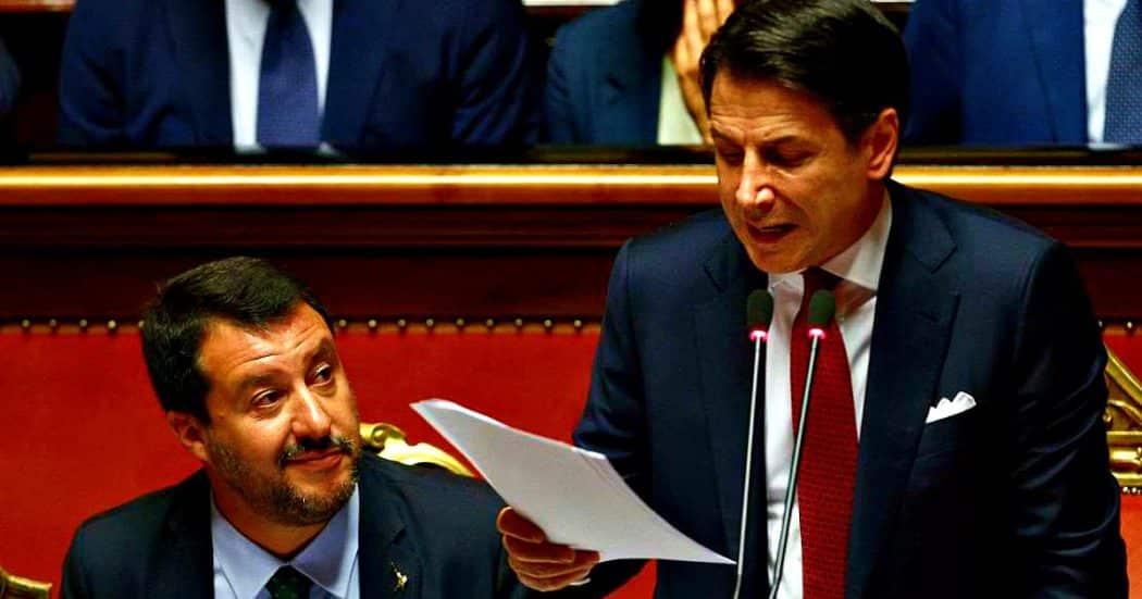 """Coronavirus, scintille tra Conte-Salvini, il Premier """"L'ho chiamato e non mi ha risposto"""", Il leader della Lega """"Non cerchi scuse per l'incapacità sua e del suo governo"""""""