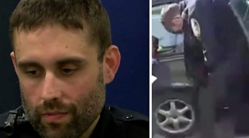Un poliziotto ferma un'auto con a bordo una giovane madre con tre figli piccolissimi, dopo aver visto all'interno della macchina ordina alla donna di uscire immediatamente